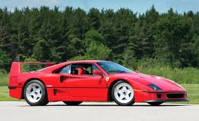 f40 auction f40 once owned by rod stewart goes to auction