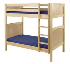 Maxtrix High Bunk Bed W Straight Ladder TT - Maxtrix bunk bed