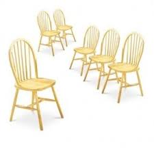 Oak Spindle Back Dining Chairs Light Wood Dining Chairs Foter