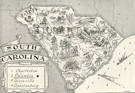 State Map Of South Carolina by Detailed Map Of South Carolina State Research Project Final