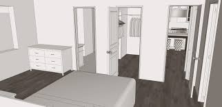 Design A Master Bedroom Closet Sarah M Dorsey Designs Proposed Kitchen And Master Suite Remodel