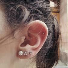 piercing ureche cele mai bune 25 de idei despre piercing cartilago oreja pe