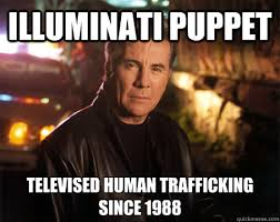 illuminati puppet televised human trafficking since 1988 john