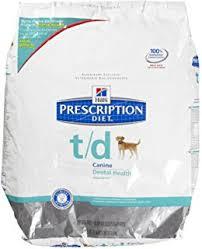amazon com hill u0027s prescription diet t d dental health dry dog