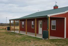 Barn Building Plans Very Simple 30 X 50 Metal Pole Barn Home In Oklahoma Hq Pictures