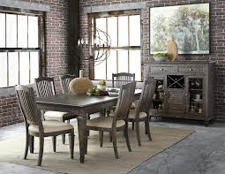 Lazy Boy Dining Room Furniture Sutton Place Transitional Seven Piece Dining Set Rotmans