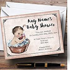 personalized baby shower invitations let s personalize that