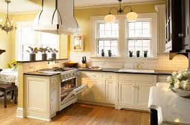 Yellow And White Kitchen Ideas Kitchen Ideas White Kitchen Cabinets With Yellow Wall Color