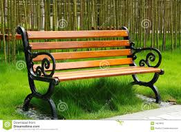Benches In Park - park bench stock image image 14678841