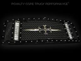 Led Truck Bar Lights by Finally A Truck Grill Made For A Bright Led Light Bar Royalty