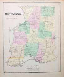Richmond Ky Map Richmond Rhode Island Map Antique Maps And Charts U2013 Original