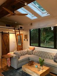Four Lights Tiny House A Stunning Tiny House On Wheels By Tiny Heirloom Called The