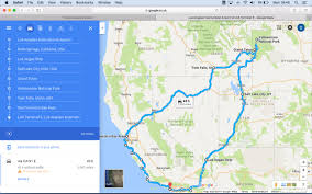 Map My Driving Route by La To Yellowstone Round Trip