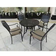 how to clean rod iron patio furniture