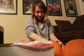 happy halloween pumpkin carving inspired by the movies anon