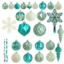 turquoise ornaments tree decorations the
