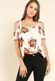 open shoulder blouse floral print open shoulder blouse shop and now at papaya