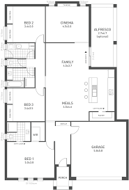 Floor Plans For Large Families by New Home Designs The Design Seven Weeks U0026 Macklin Homes