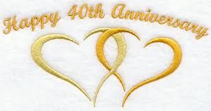40 anniversary gift wedding anniversary gifts wedding anniversary gifts for parents
