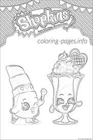 print shopkins suzie sundae coloring pages kids coloring book