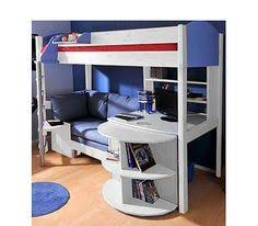 Bunk Bed Desk Combo Aged Can Be For The Bed As It Has A Large Work Area