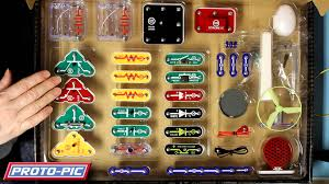 snap circuits lights electronics discovery kit snap circuits light unboxing youtube
