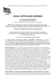 zoo writing paper legal notice and demand template notary public law of agency