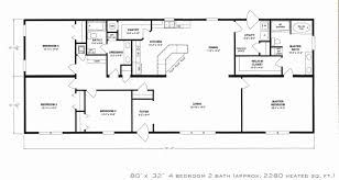 47 lovely 4 bedroom 2 story house plans house floor plans