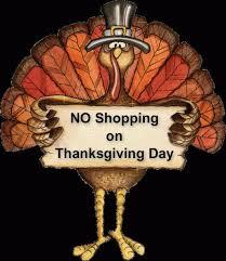 no shopping on thanksgiving rev m preble
