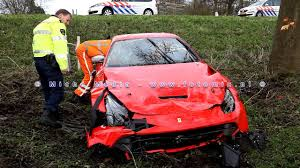 laferrari crash wrecked exotics google