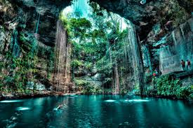 ik swim in cenote ik kil the mayans gate hereafter traveldigg com