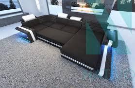 sofa mit led beleuchtung ledersofa imperial xl bei nativo möbel schweiz günstig kaufen