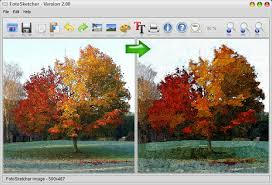 turn your photo picture into a cartoon sketch oil painting