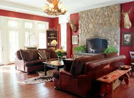 Rustic Livingroom Rustic Living Room Ideas On A Budget Brown Rug Maroon Velvet Sofa