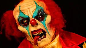 Clown Halloween Costume Psycho Killer Clown Halloween Costume Latex Mask