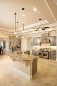 Kitchens And Cabinets Typhoon Bordeaux Granite With Full Backsplash Traditional