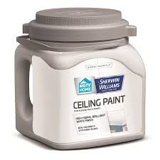 shop hgtv home by sherwin williams ceiling white flat latex