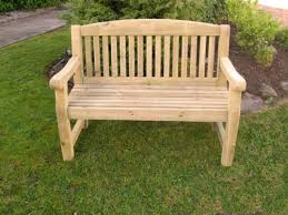 athol 4ft foot heavy duty wooden garden bench ebay