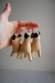 pug tree ornaments typo my pug collection