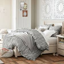 Grey Bed Frame Costa Storage Bed Pbteen