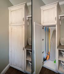 broom closet organization ideas