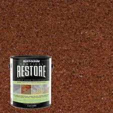 exterior paint reds pinks rust oleum restore paint colors