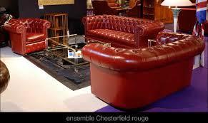 canapé cuir de buffle salon chesterfield en cuir de buffle coloris longfield 1880