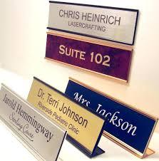 office desk office desk signs front door plaque ideas signage