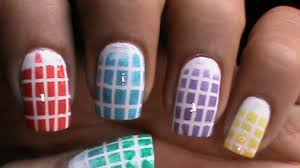 checkered nails design image collections nail art designs