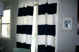 White And Navy Striped Curtains Black And White Striped Drapes Gray And White Striped Curtains