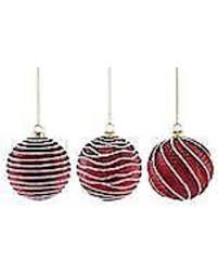 hello holidays 68 matte 3 frosted glass ornament