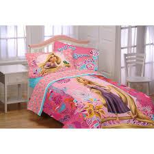 Tangled Bedding Set Disney Tangled Microfiber Reversible Comforter Walmart