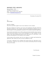 cover letter personal qualities example