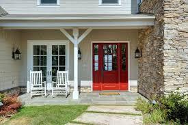 glass panels for front doors cottage front door with stone surrounding u0026 exterior stone floors